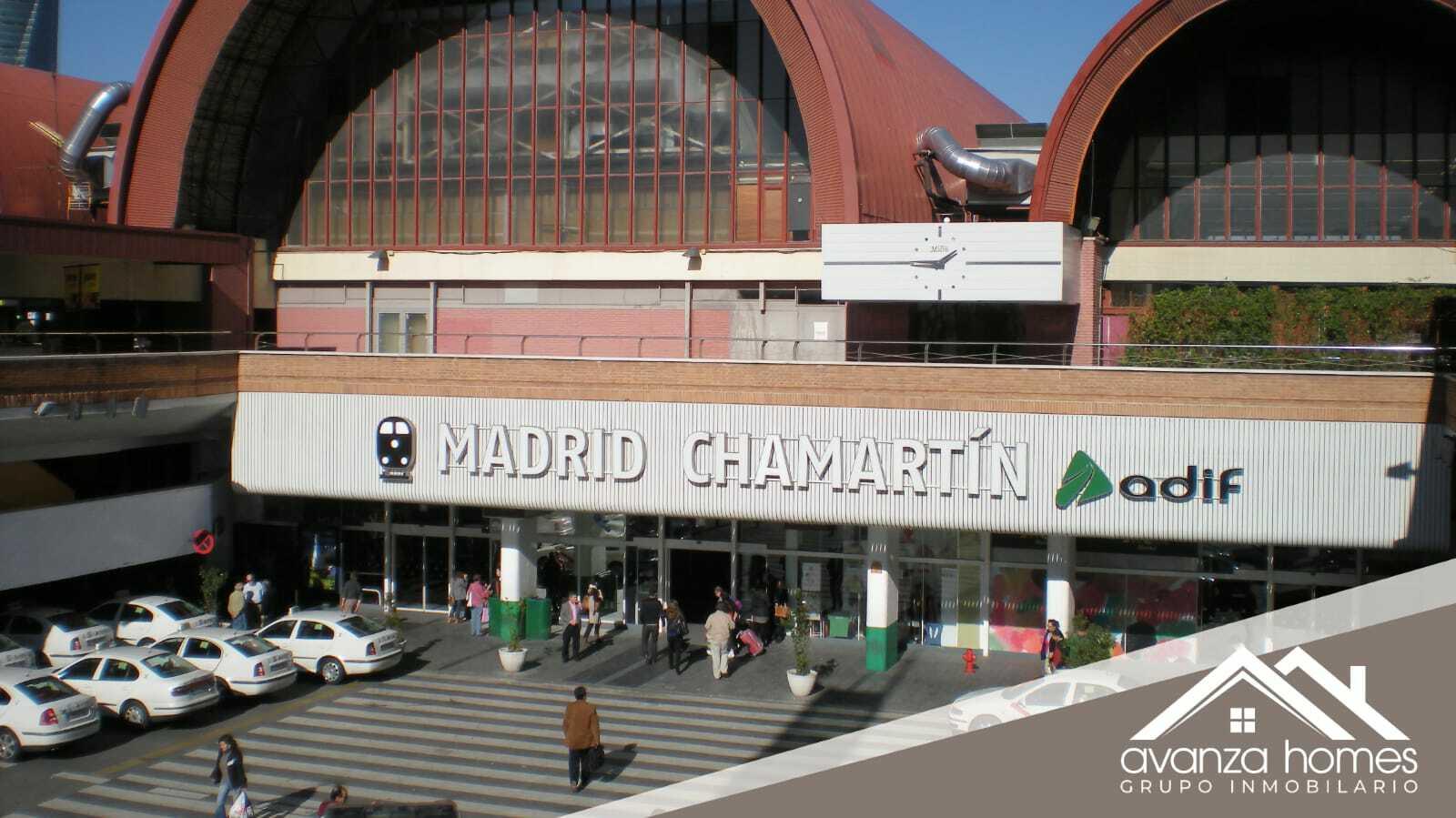 Estación de Chamartín Clara Campoamor
